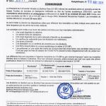 Communiqué relatif aux modalités d'inscription administrative et pédagogique des étudiants admis au Master 1 Fouilles de données et Intelligence Artificielle de l'UV-BF