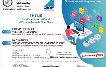 Cloud Computing (Formation & Hackathon)