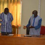 Installation du président de l'Université Virtuelle du Burkina Faso