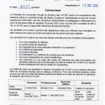 Procédures d'inscription pour les admis au Master en E-santé et Télémédecine