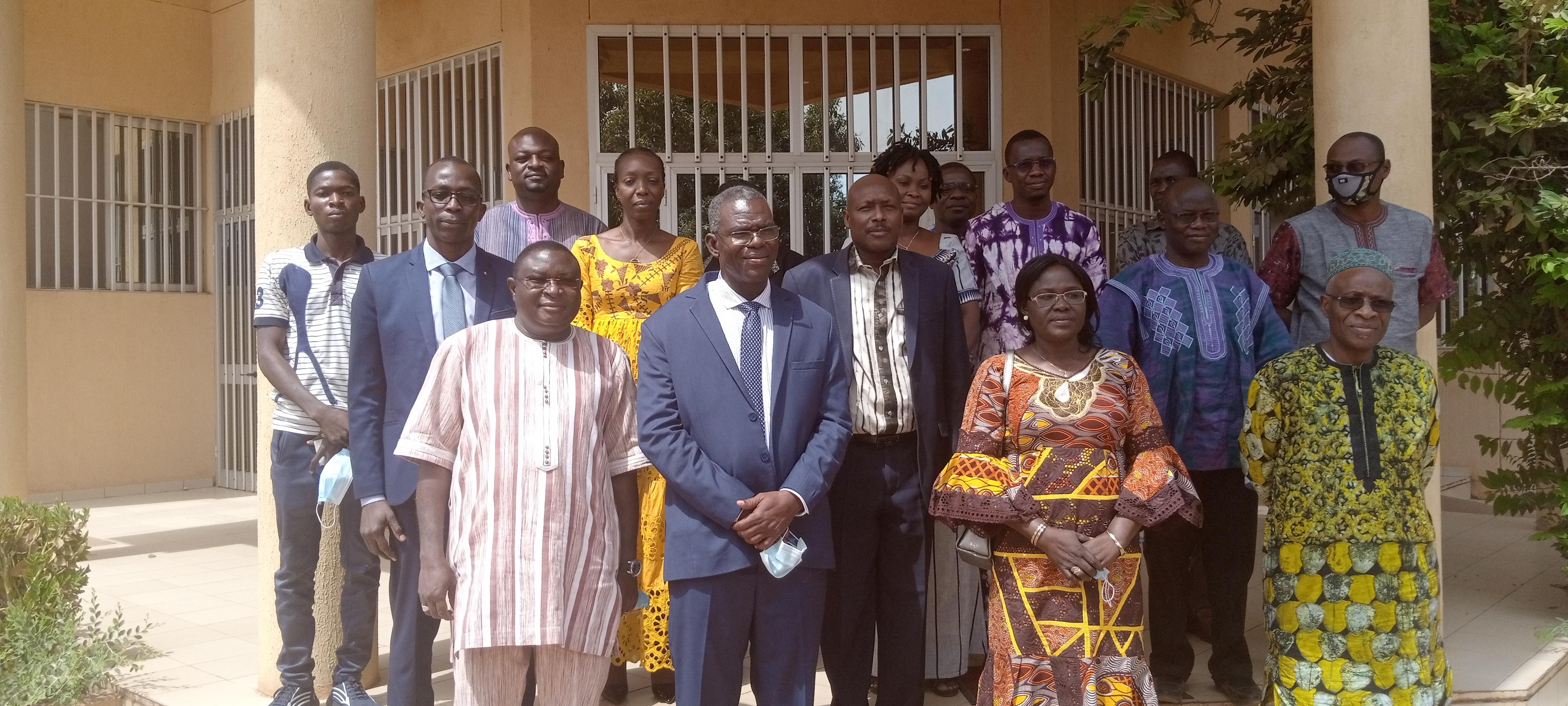 Visite d'immersion de Madame la Ministre déléguée chargée de la recherche scientifique et de l'innovation